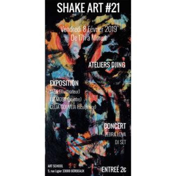 Shake Art #21, 8 février 2019
