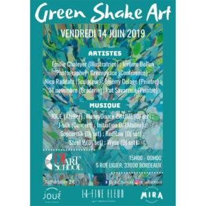 Green shake art