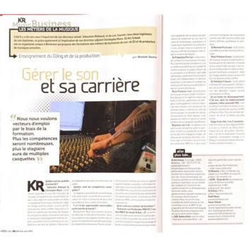 KR Home Studio parle de nous !