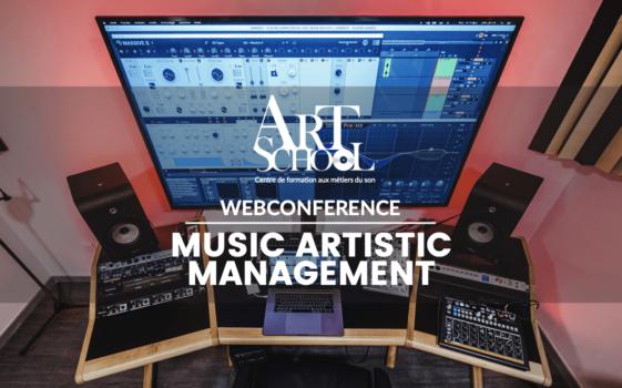 Webconférence – Music Artistic Management