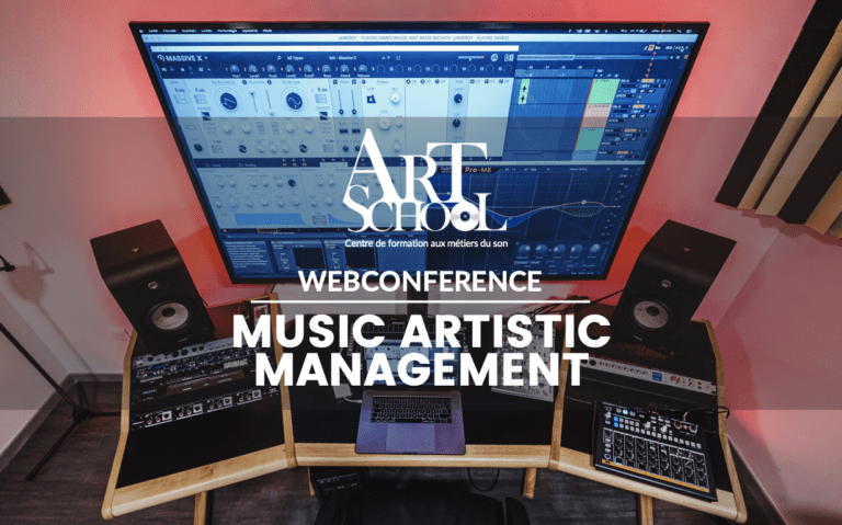 Webconférence – Music Artistic Management